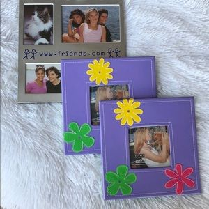 GIRL'S PICTURE FRAME BUNDLE